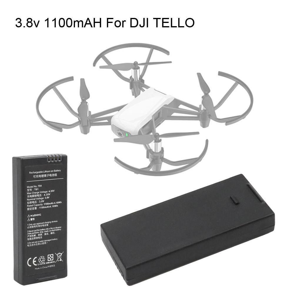 สำหรับ Dji Tello โดรนสี่ใบพัดอัจฉริยะแบตเตอรี่การบิน1100 Mah 3.8v.