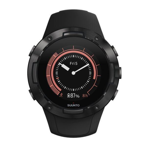 Suunto 5 All Black - Compact GPS Sports Watch With Great Battery Life Malaysia