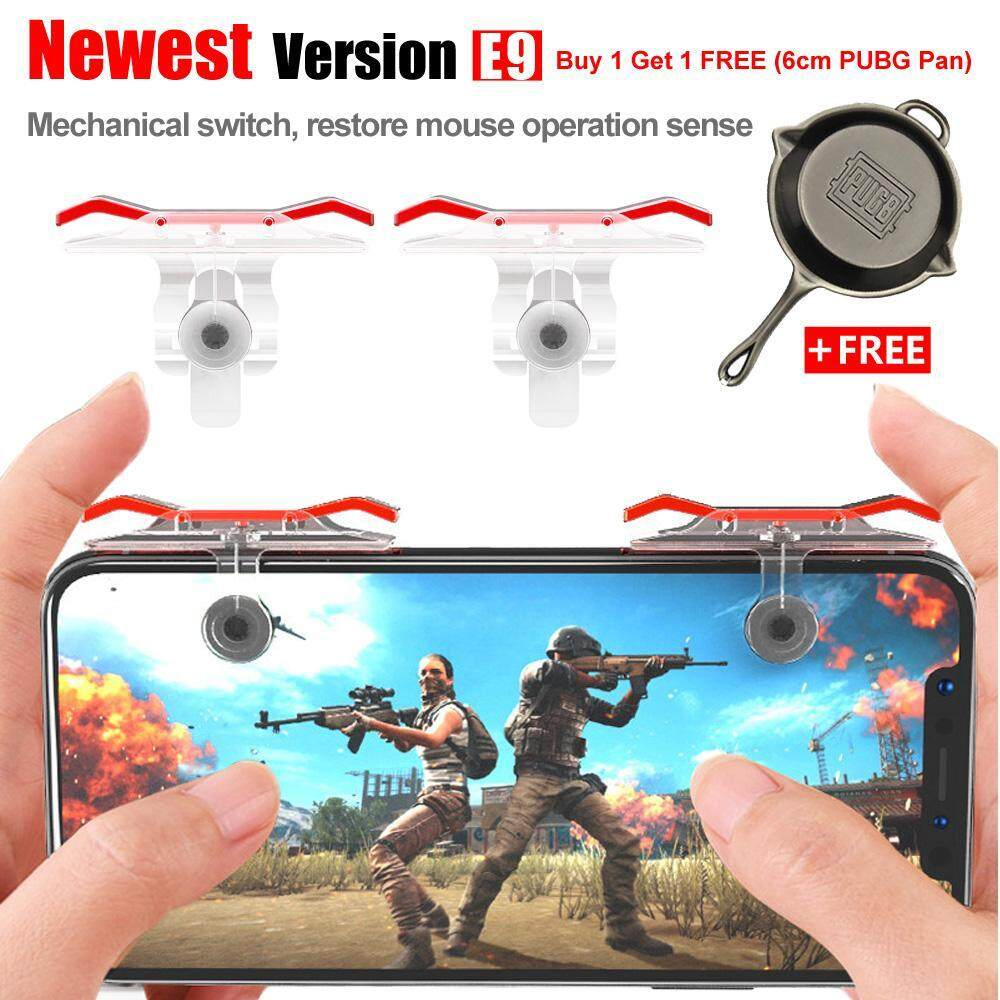 [BUY 1 FREE 1 GIFT]PUBG Mobile Game Controller E9 Latest Version Joystick Gaming