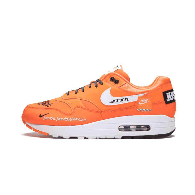 pretty nice 0c654 67b5c nike Air Max 1 Just Do It Men s Running Shoes Sport Outdoor Sneakers Air  cushion shoes