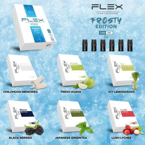 FLEX Compatible RELX Pods - Frosty Edition Malaysia