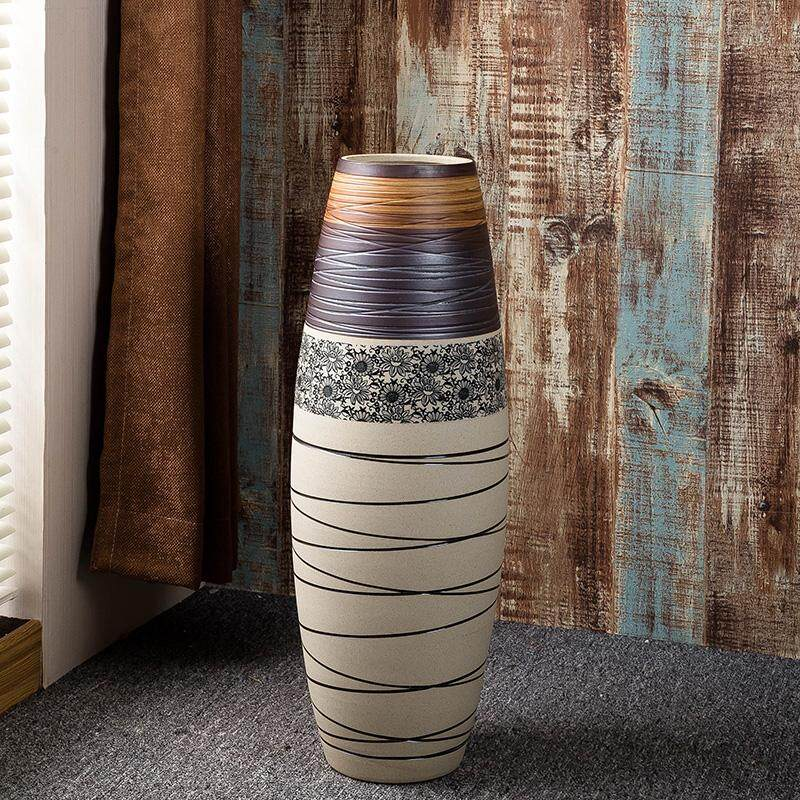 Modern European home Ceramic Floor vase