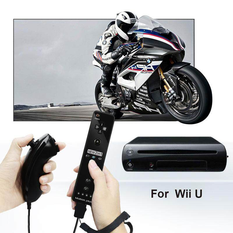 Built-In Motion Plus Wireless Remote Gamepad Controller For Nintend Wii Nunchuck For Nintend Wii Remote Controle Joystick Joypad.