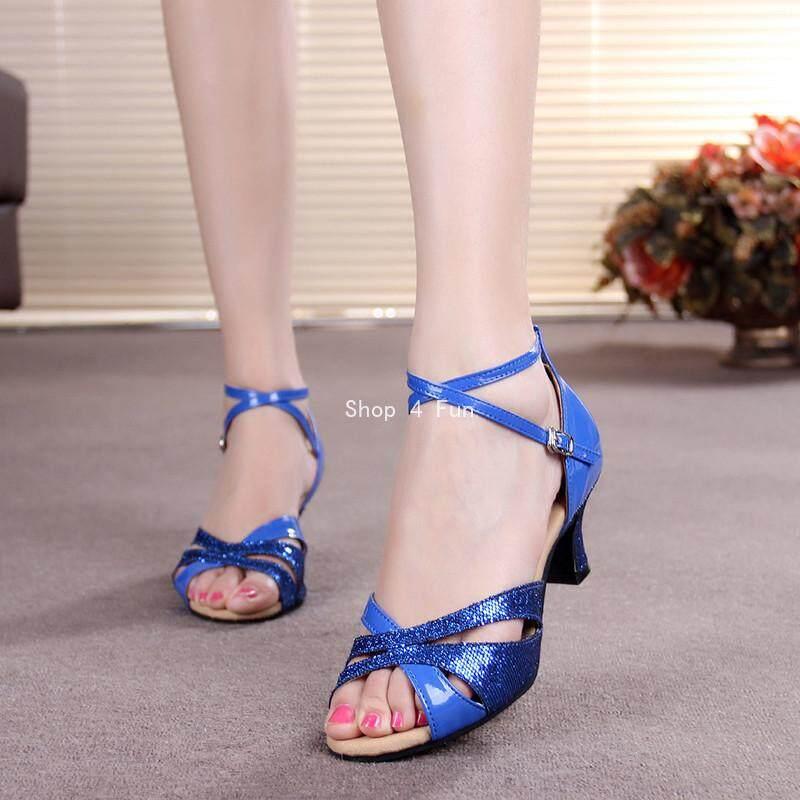 Giá bán Shop 4 Vui Vẻ Người Lớn Tiếng La Tinh Giày Khiêu Vũ Nữ Phòng Khiêu Vũ Nhảy Múa Giày Hiện Đại Giày Khiêu Vũ