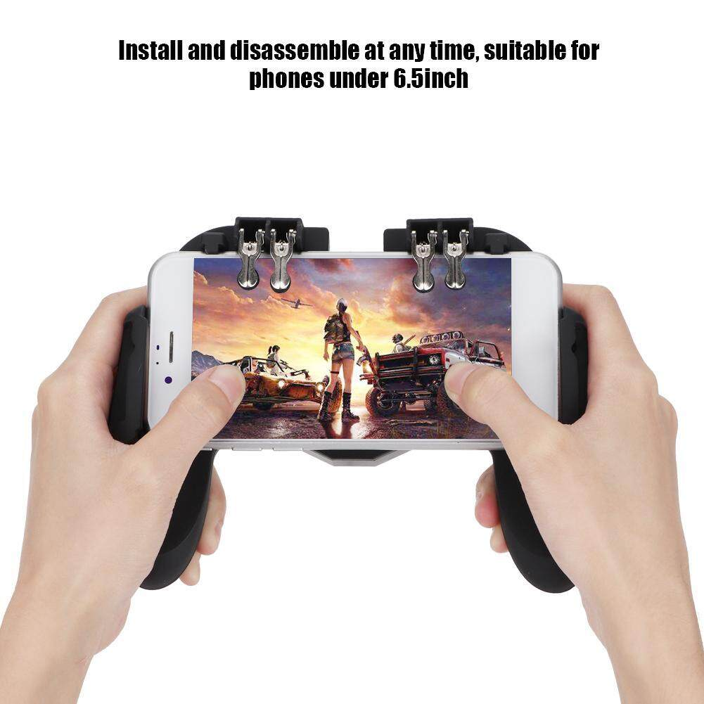Mobile Phone Game Controller Heat Dissipation Gamepad Power Handle with  Cooling Fan