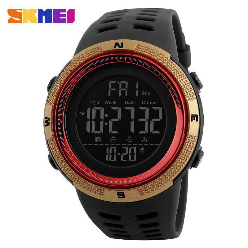 SKMEI Men Watches Sport Digital Watch For Men Chronograph Luminous Calendar Date Stopwatch Rubber Strap Japanese Movement 1251 Malaysia