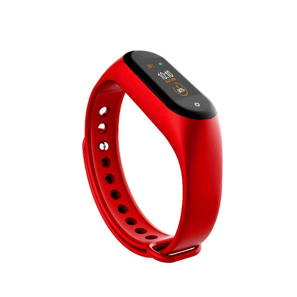 M4 Intelligence Wristband Heart Rate Bl-ood Pressure Monitor Wristbands Pedometer Sports Bracelet Waterproof Fitness Band