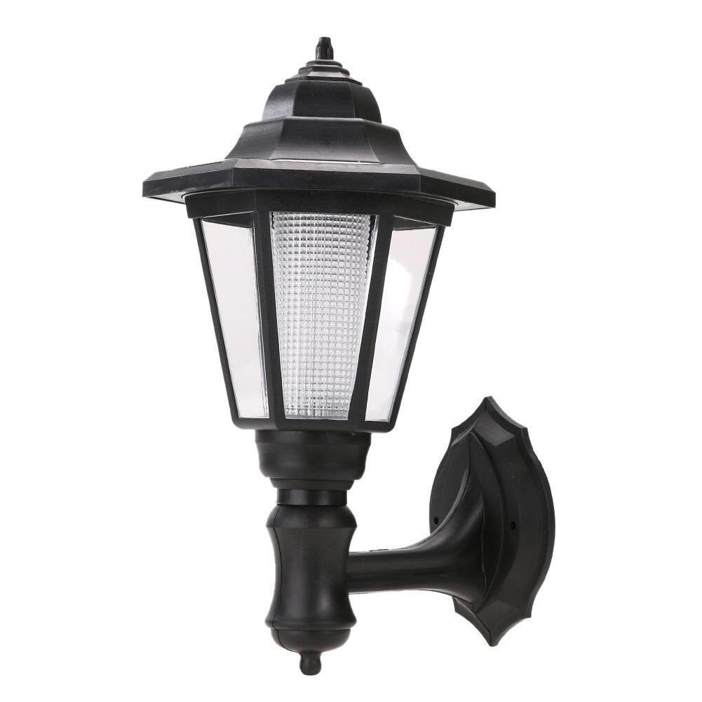Điện năng lượng mặt trời Đèn LED Con Đường Chiều Treo Tường Phong Cảnh Núi Đèn Sân Vườn (Trắng Ấm Áp)-