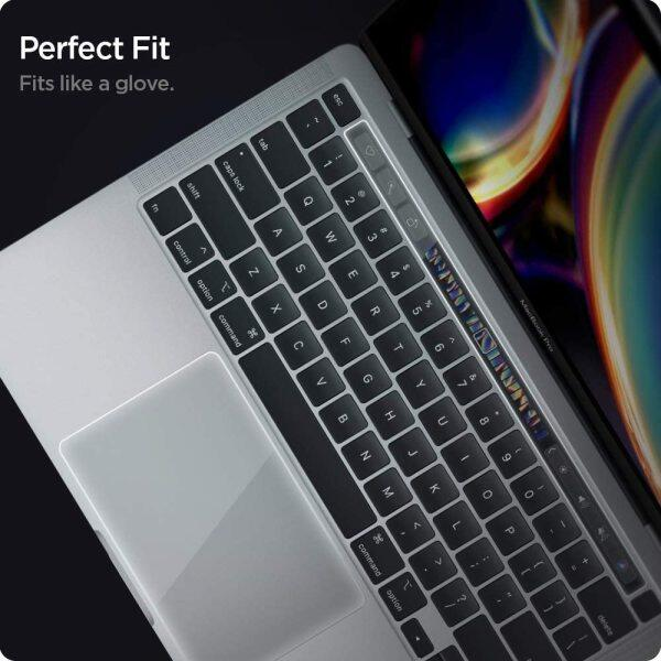 AirSkin MacBook Pro TouchBar/TrackPad Protector with Matte Film for MacBook Pro 13 inch (2020) Model A2338/A2251/A2289 Track pad Cover Protective Film Skin Laptop Accessories