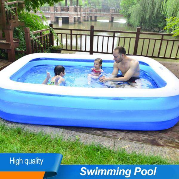 Inflatable Swimming Pool Childrens Piscina Infantil Household Baby Wear-resistant Thick Marine Ball Spa Gonflable Exterieur