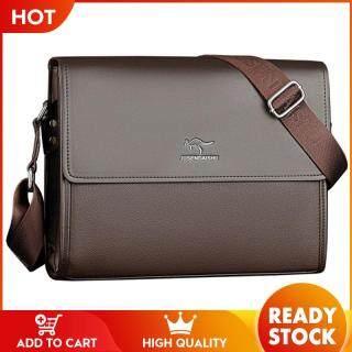 Túi công sở đeo chéo Johnn cho nam kích thước 32x25x7cm thời trang thường ngày lịch lãm - INTL thumbnail