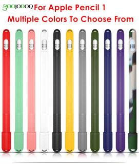 Bút Chì Apple GOOJODOQ Ốp 1 Thế Hệ Vỏ Bút Chống Rơi Cho Ipad Vỏ Bảo Vệ Bút Bằng Silicon Thích Hợp Cho Apple 1 Generation thumbnail