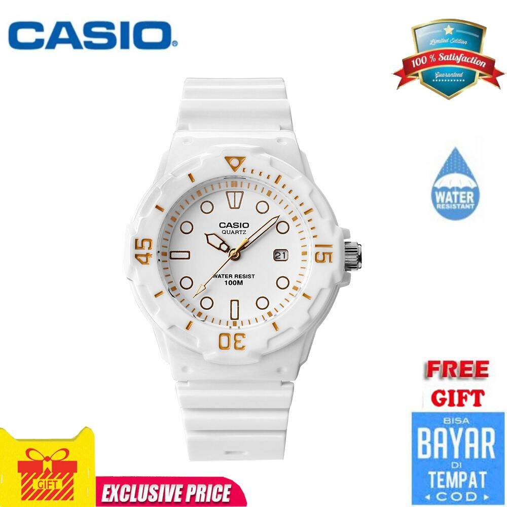 Casio Analog Womens White Resin Strap Watch LRW-200H-7E2 Malaysia
