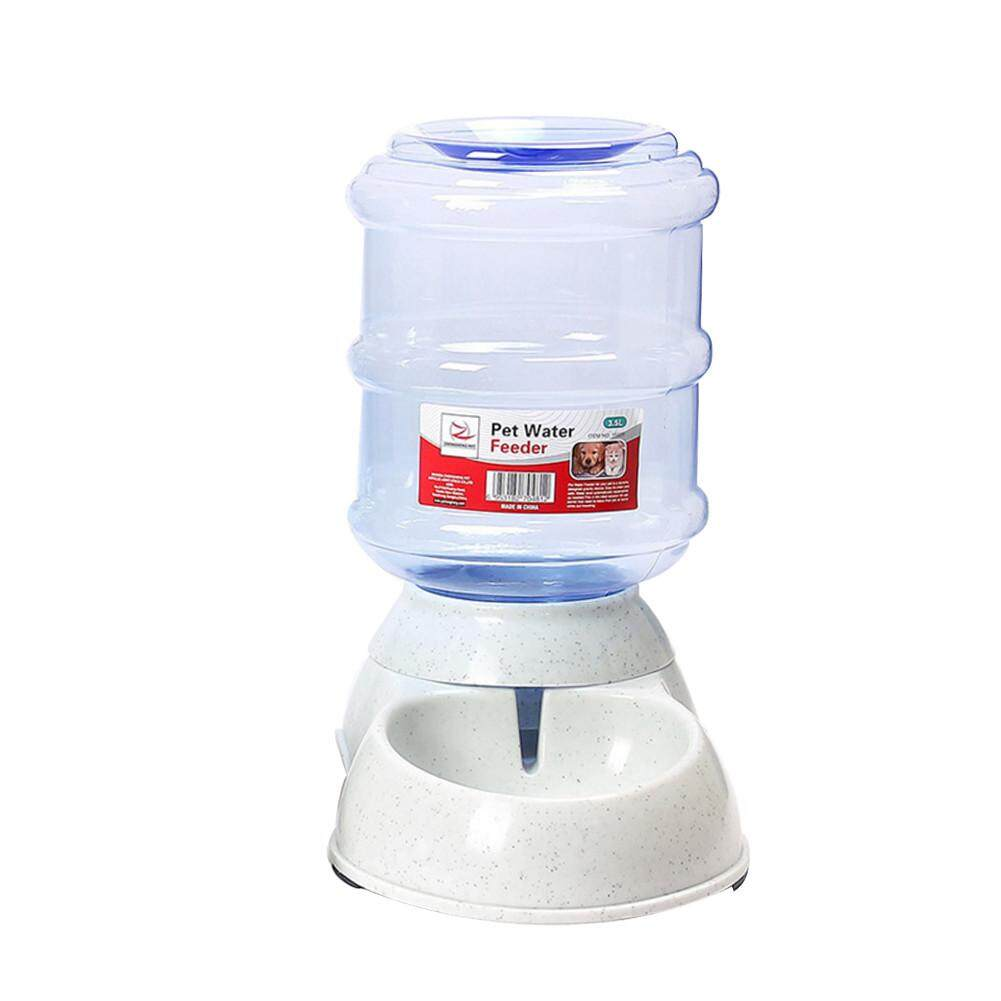 Sundlight 3.5l Large Automatic Pet Feeder Drinking Fountain For Cats Dogs Bowl Pets Water And Food Dispenser Pets Supply Watener (water Feeder) By Sundlight Shop.