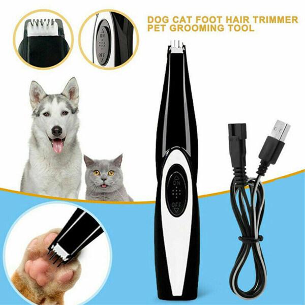 USB Di Động Điện Pet Dog Cat Hair Clipper Tông Đơ Máy Cạo Râu