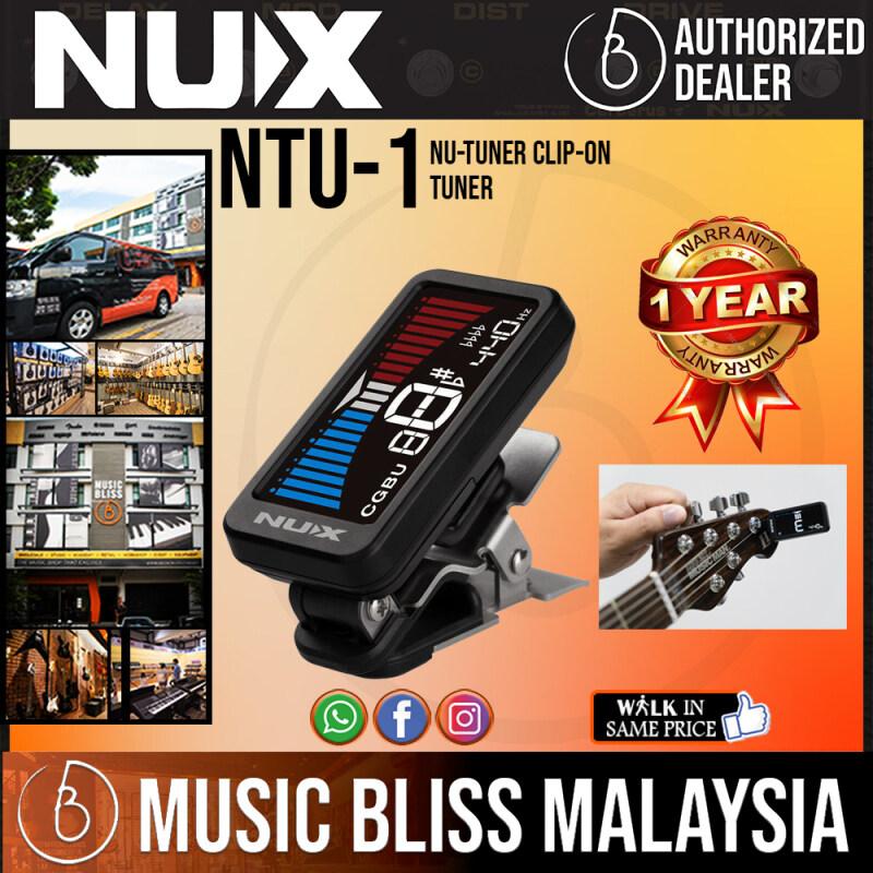 NUX NU-TUNE Clip-On Tuner (NTU-1 / NTU 1) Malaysia