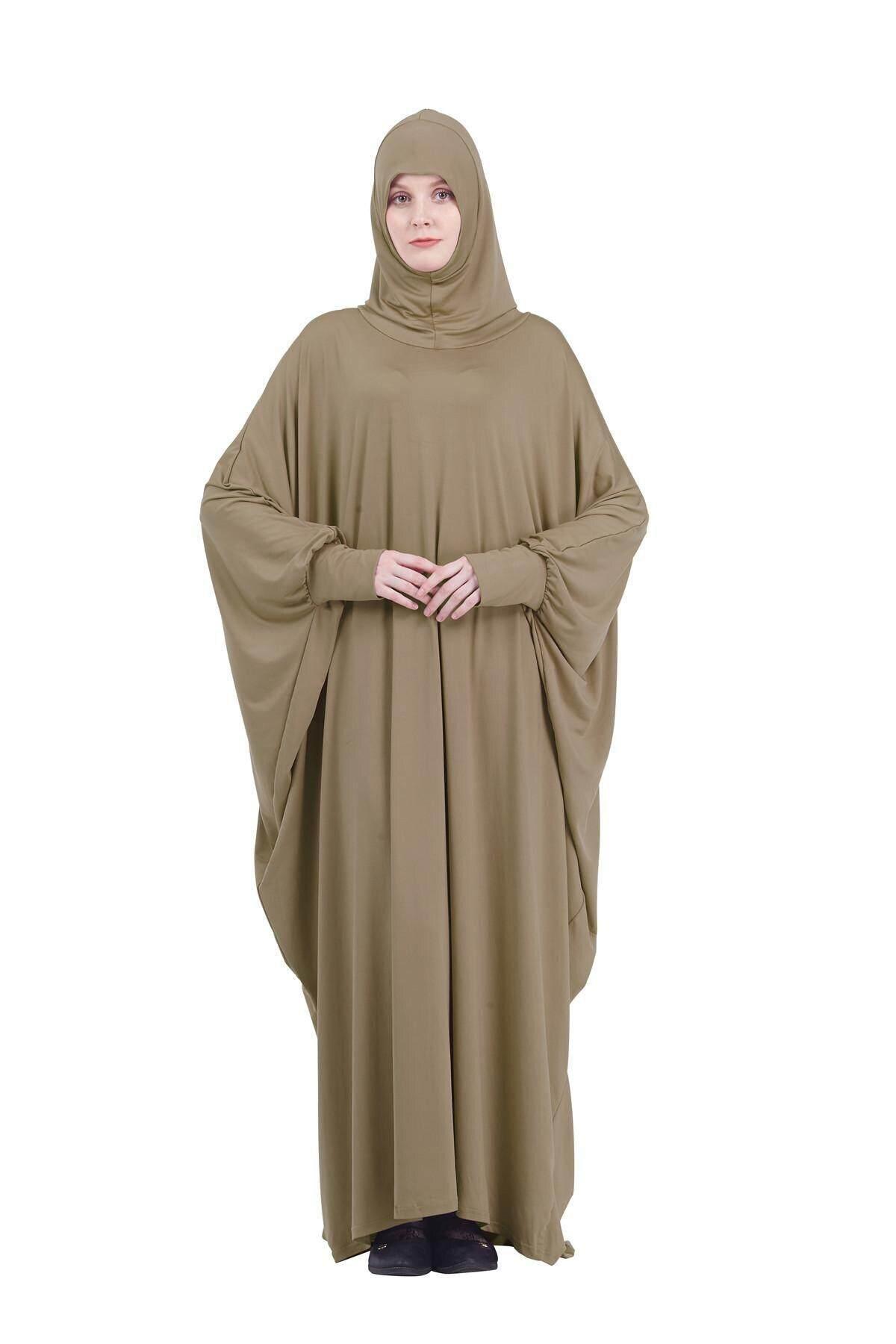 Abaya Muslim Women Dress Islamic Kaftan Jilbab Prayer Maxi Dress Arab Robe Gown