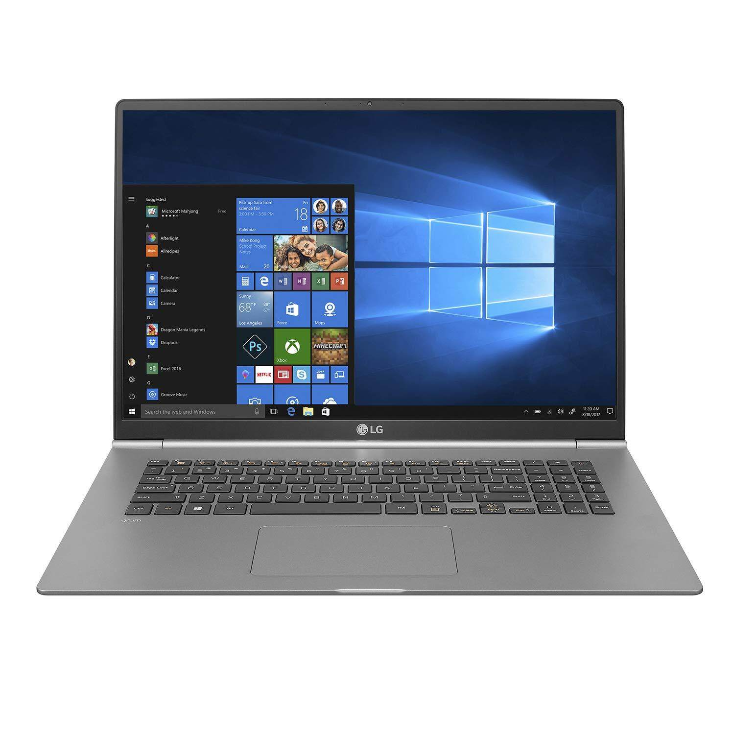 LG gram Thin and Light Laptop - 17  (2560 x 1600) IPS Display, Intel 8th Gen Core i7, 16GB RAM, 512GB SSD, up to 19.5 Hour Battery, Thunderbolt 3 Malaysia