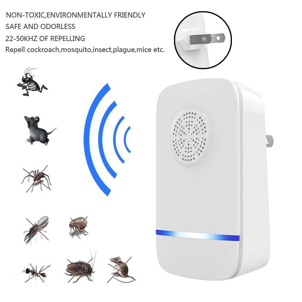 Eenten [2018 Upgraded] Ultrasonic Pest Control Repeller,electronic Repeller,pest Repeller Plug In Ultrasonic For Insect - Mice, Mouse, Bed Bugs, Spiders, Mosquitoes, Roaches, Ants, Fleas, Human & Pet Friendly(4 Packs) By Eenten.