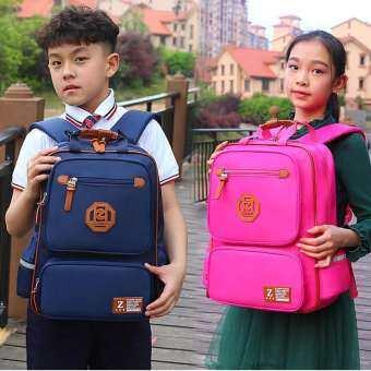 2019 สไตล์ใหม่น้ำหนักเบากันน้ำหลักกระเป๋านักเรียนชายประถม Bookbag