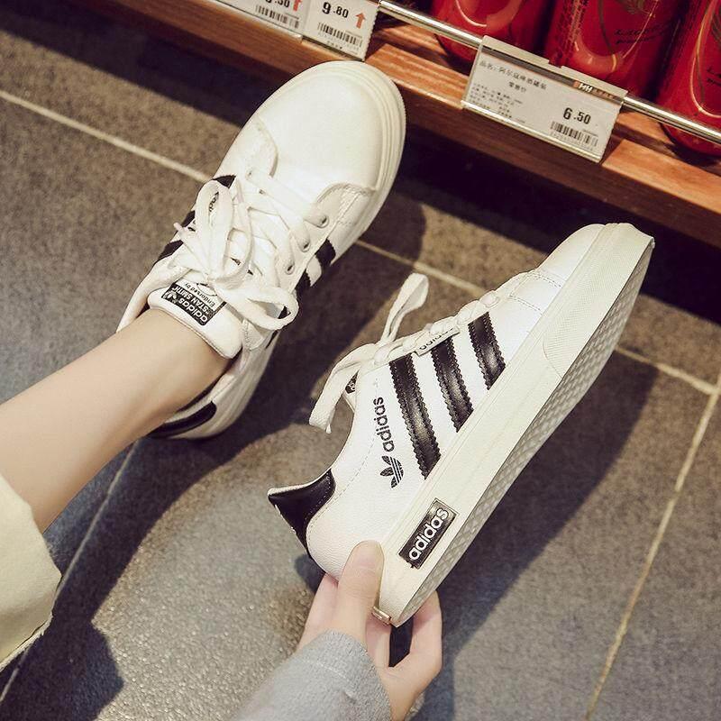 Mùa Hè _ Adidas _ Giày Nhỏ Trắng Giày Trắng Giày Thoải Mái Thời Trang Siêu Khuyến Mại