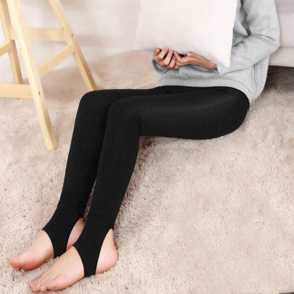 Bán Chạy Nhất Quần Legging Nữ Tử Cung Ấm Lên Đầu Gối Lót Đầu Gối Nắp Quần Skinny Nữ Cho Mùa Đông