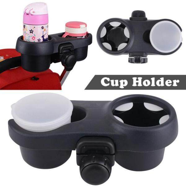 Stroller Cup Holder Universal Baby Bottle Storage Box Drink Beverage Coffee Cup Holder Baby Bottle Organizer for Baby Buggy Bike Pram Bicycles Pushchair Singapore