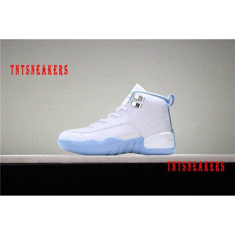 ลำปาง Original_Nike_Kids_Air_Jordan_12_Retro_Sports_Basketball_Shoes_7105