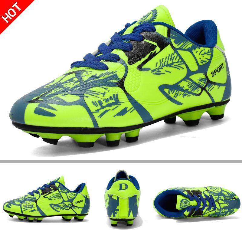 1316a13a Football Boots Boy Kids Original FG Football Shoes for Kids Breathable  Soccer Shoes Men Size32-43