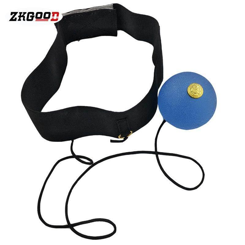 Zkgood ซิลิโคนการชกมวย Reaction Ball นักมวยความเร็วการฝึกอบรมไฟดิสโก้สำหรับกีฬาฟิตเนส By Zkgood.