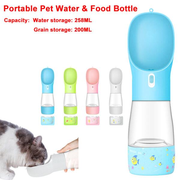 Đồ Ăn Cho Thú Cưng Meow Go, Cốc Đựng Thức Ăn Và Nước Cầm Tay Đa Năng Đi Chơi Du Lịch Và Cho Chó Ăn Và Đài Phun Nước Uống Pet Nguồn Cung Cấp