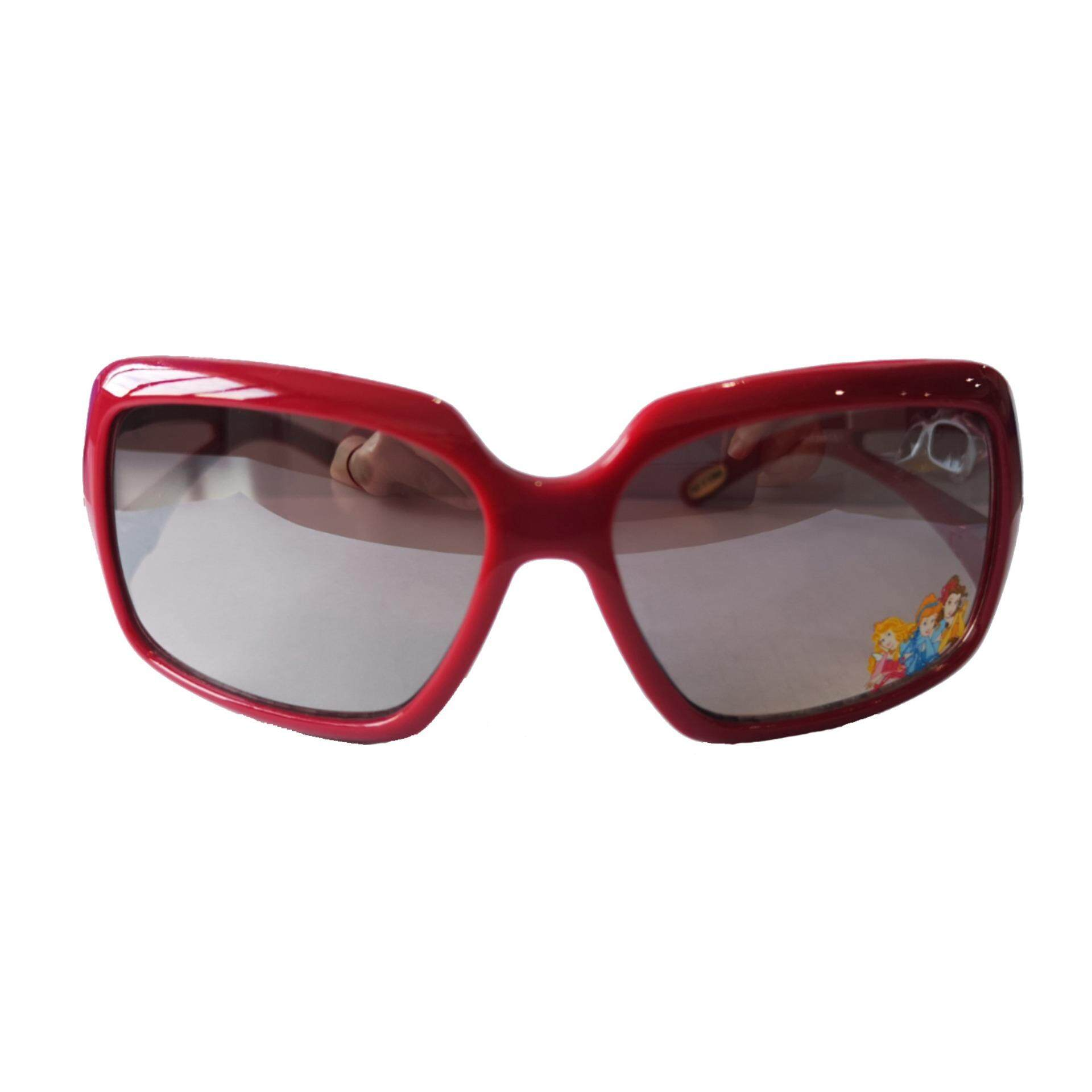 cd1b99e7e85 Disney Princess Girls Square Lens 100% UV Protection Eyewear Outdoor  Sunglasses - Dark Red Colour