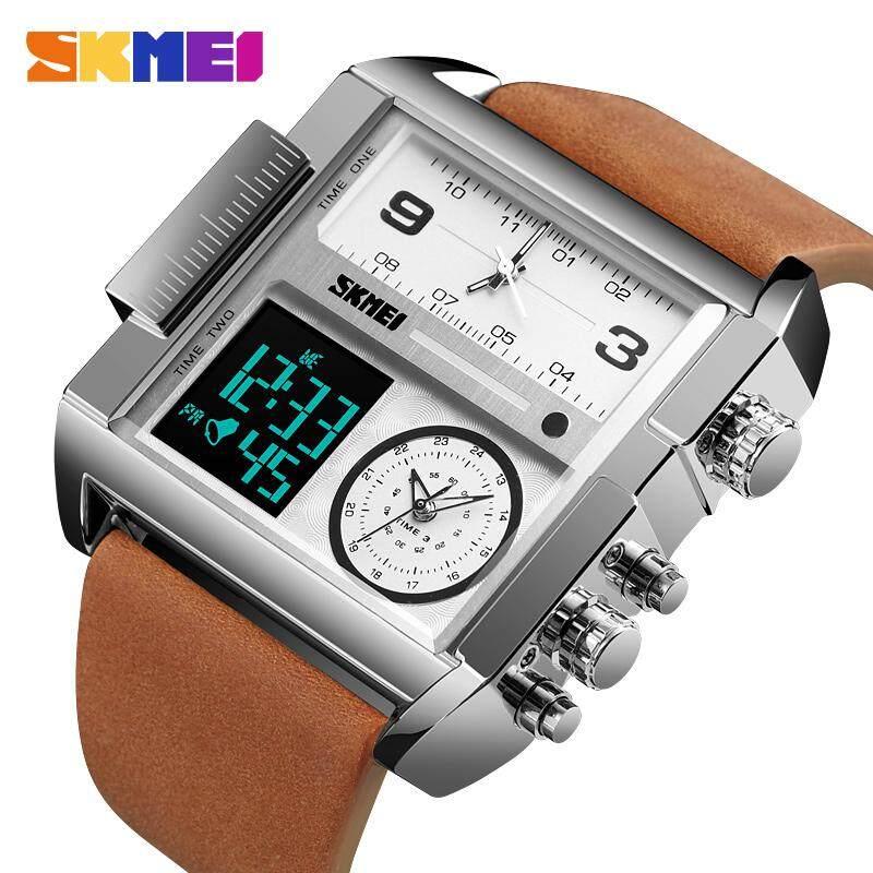 SKMEI Men Sports Watch Top Luxury Brand Military Wristwatch Men Quartz Analog Digital Watches Malaysia