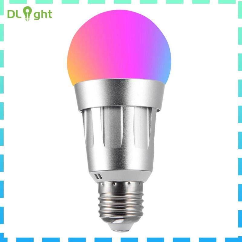 【Dlight】85-265V WiFi Thông Minh Bóng Đèn E26 LED RGB Đèn Làm Việc Với Alexa/Google Home