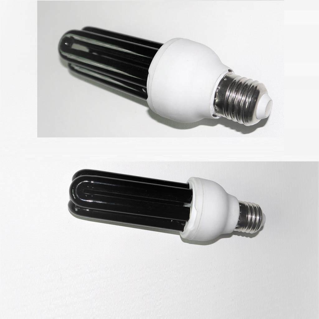 Perfk 2 Pieces 30W Bright UV Light Bulb Blacklight Ultraviolet Fluorescent 220V