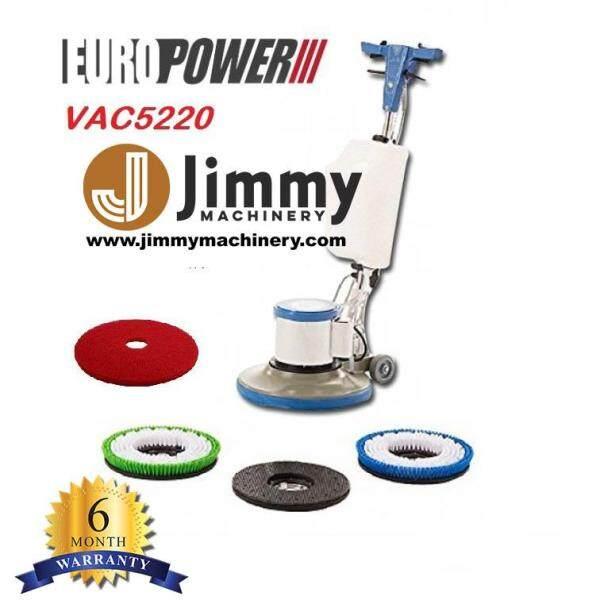 EuroPower VAC5220 17 Floor Polisher Multi-Functional Floor Burnisher 1800W