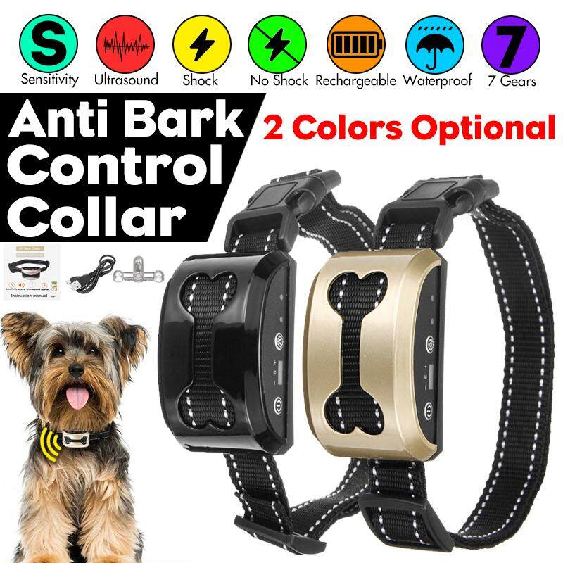 Back To Search Resultshome & Garden Flight Tracker Pet Dog Rechargeable Anti Bark Collar Control Spray Bark Collar Stop Barking Dog Waterproof Ultrasonic Training Collars