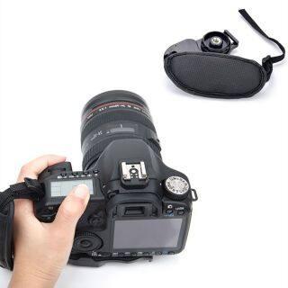 Máy Ảnh Kỹ Thuật Số Chất Lượng Cao Dành Cho Canon EOS Nikon Olympus Túi Đựng Máy Ảnh Cầm Tay SLR DSLR Máy Ảnh Cầm Tay Màu Đen Dây Đeo Cổ Tay Da thumbnail