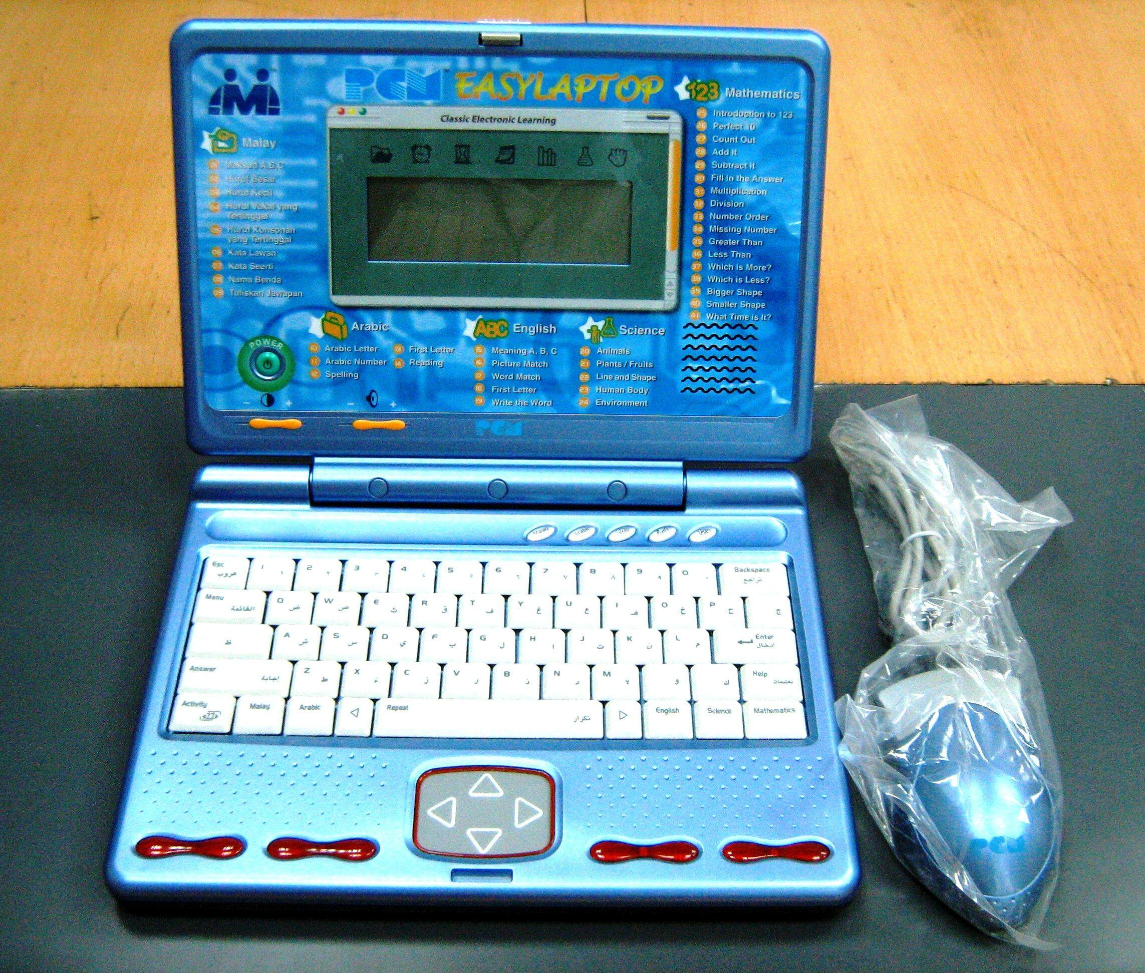 Pcm Winner 2020 Easy Laptop - Electronic Learning Toy By Cy 2u.