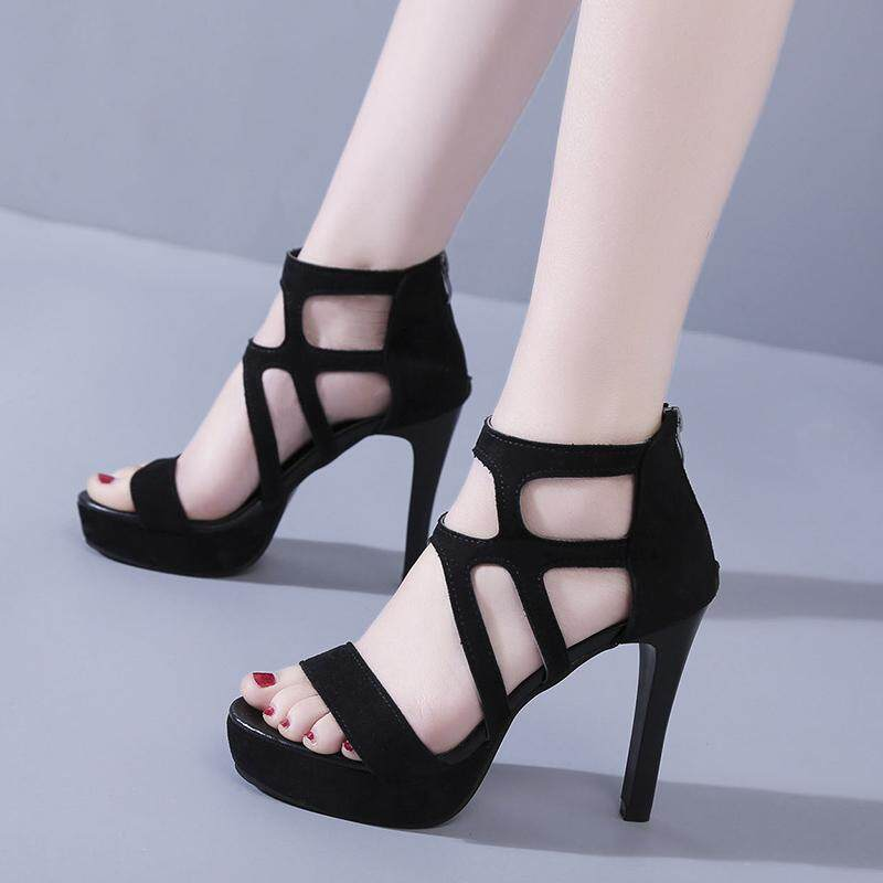d0b414eef7 Fashion Women Super High Heels Sandal Platform Shoes Stiletto Party Shoe