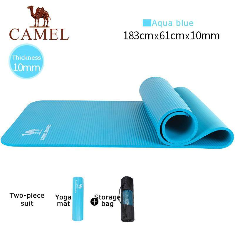 Camel Sports Outdoor Hight Quality Yoga Mats Thickening Non-Slip Fitnessfitness Pilates 183*61*1cm Mat Beginners – Intl By Camel International.