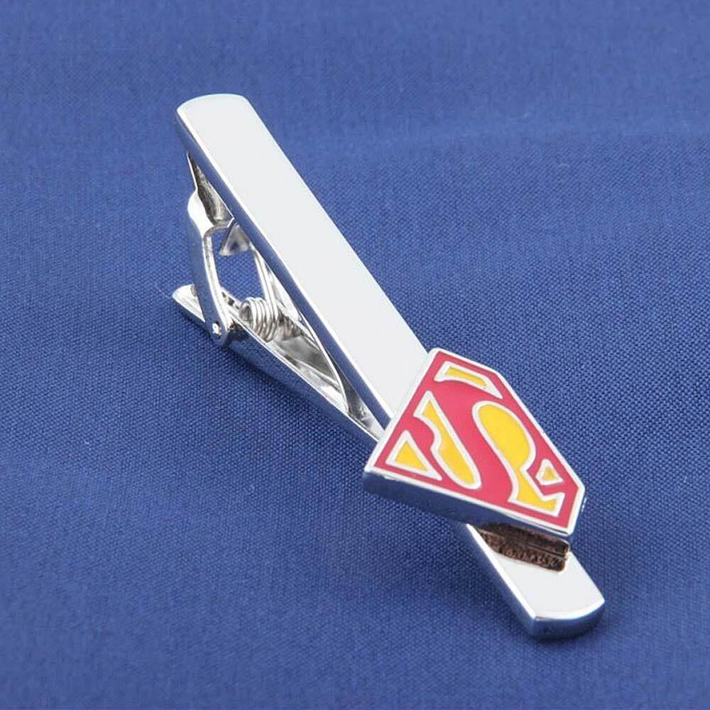 Creative Cooper Superhero Tie Bar, แฟชั่นโลหะ Tie คลิป By Gumprun Store.