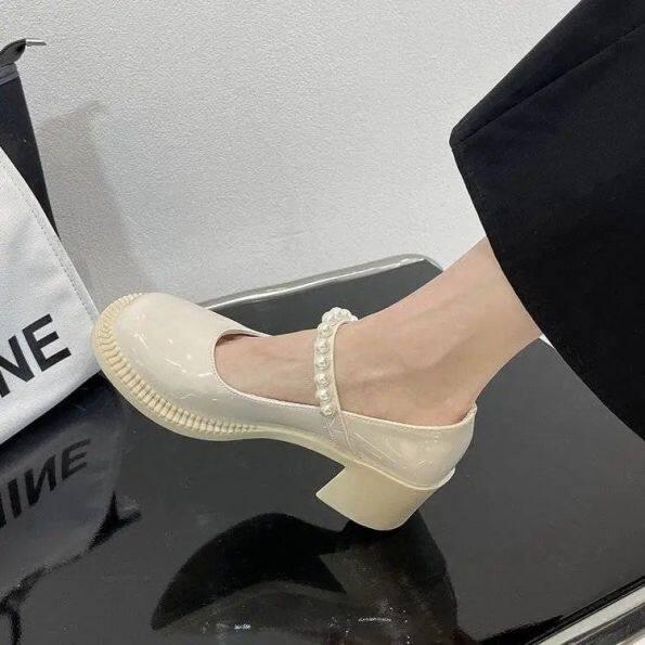 Giày Da JDW775 Mary Jane Nhật Bản Jk, Nữ Sinh Phong Cách Hàn Quốc, Phong Cách Anh Hoài Cổ Đa Năng 2021 Xuân Hè Mới Mỏng giá rẻ