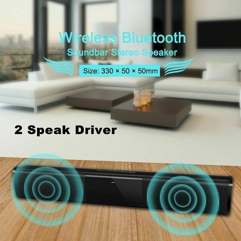 Wireless Soundbar With Bluetooth Wireless Bluetooth Sound Bar Speaker System Tv Home Theater Soundbar Subwoofer D25