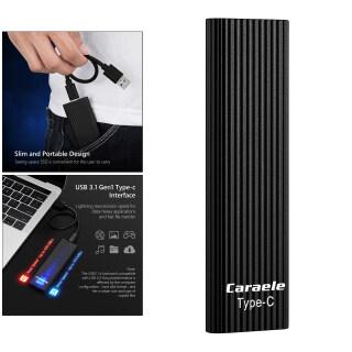 MagiDeal USB-C Di Động Gắn Ngoài SSD 500GB USB 3.1 Gen-1 Tương Thích thumbnail
