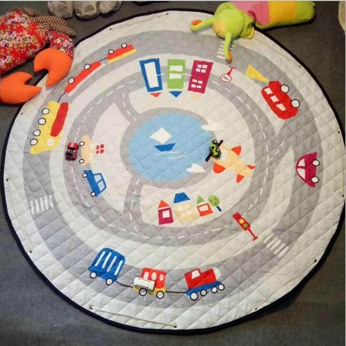 145 cm Tròn Lớn Kid Game Gối Tập Bò Thảm Chơi Thảm Chăn Thảm Trải Sàn - 2