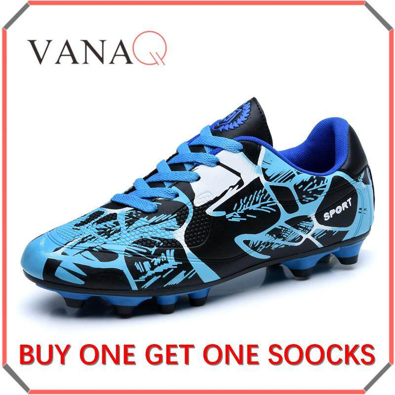 d9c15d5c8 VANAQ Soccer Shoes - Athletic Football Shoes for Men and Boy Outdoor Soccer  Shoes