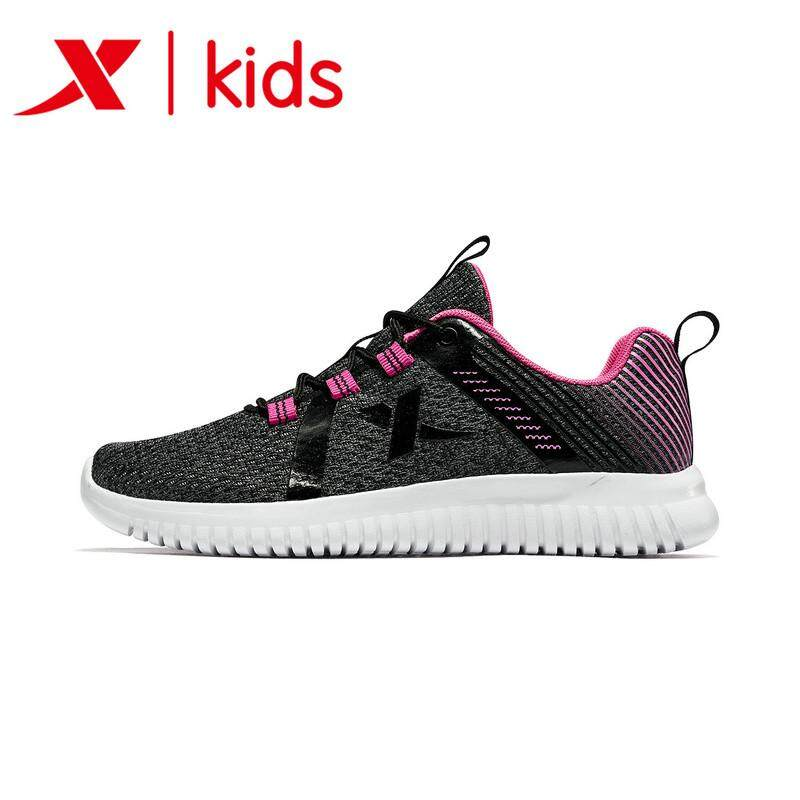 Xtep Childrens Shoes Kids Boy 2019 Autumn Winter Fashion Casual Sneakers Childrens Sports Girl Breathable Girls Shoes 681114119167.