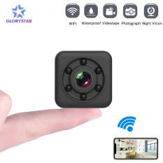 Camera IP GloryStar SQ29 HD WIFI Nhỏ Camera Cam Máy Ghi Hình Vỏ Sò Cảm Biến Chuyển Động DVR Siêu Nhỏ Chống Thấm Nước Nhìn Đêm