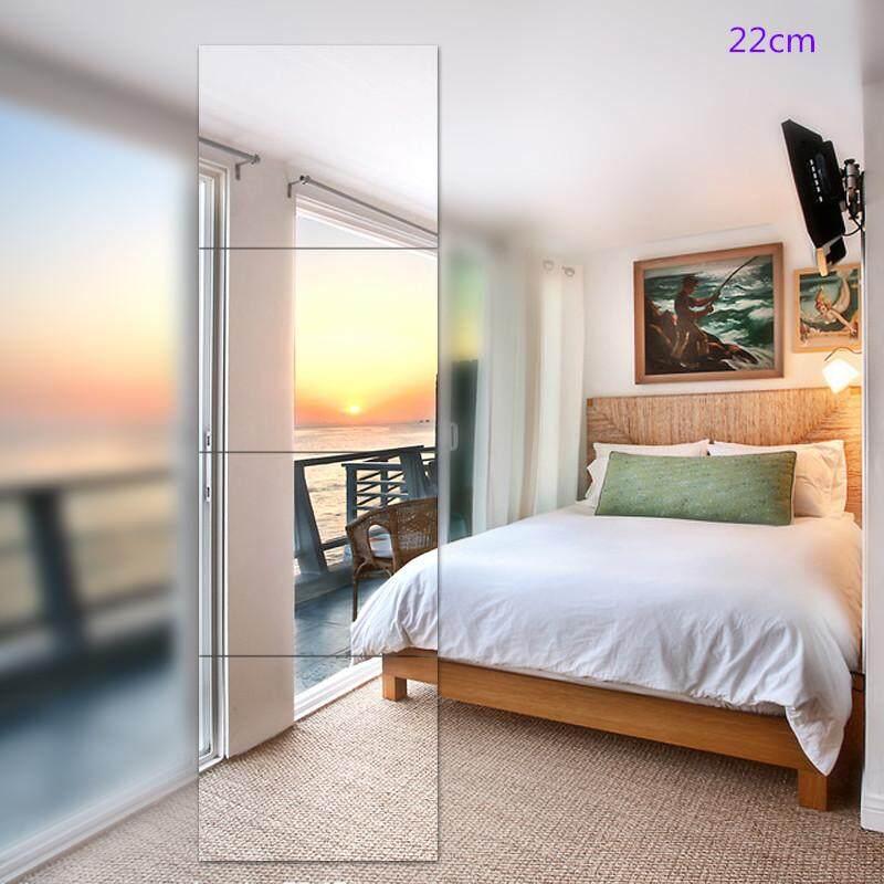 Dressing Mirror Frameless Combination Full-length Mirror Fitting Mirror Dormitory Dance Wall Hanging Paste Mirror Bathroom Mosaic Mirror